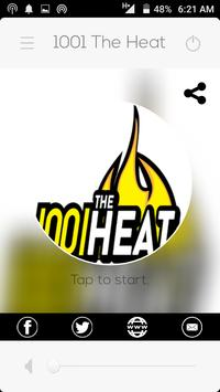 1001 The Heat poster