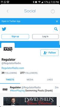 Regulator Radio poster