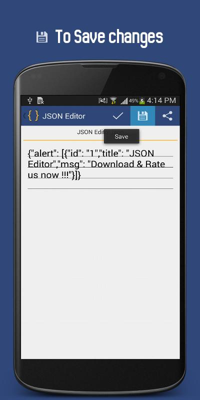 JSON Editor for Android - APK Download