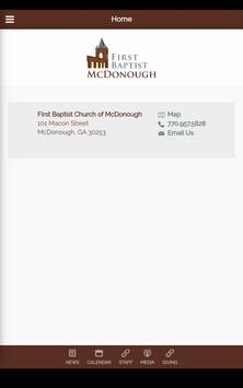 First Baptist McDonough screenshot 10
