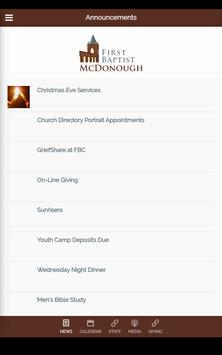First Baptist McDonough screenshot 12