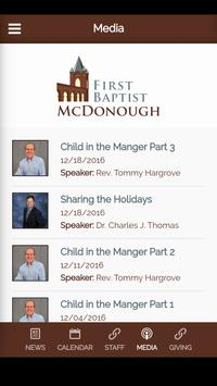 First Baptist McDonough screenshot 4