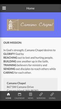 Camano Chapel poster