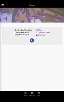 Restoration Ministries screenshot 8