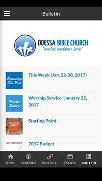 Odessa Bible Church screenshot 3