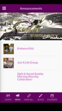 Faith Embassy Church screenshot 2