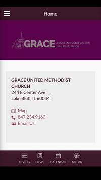 Grace UMC Lake Bluff poster
