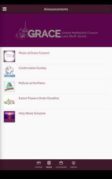 Grace UMC Lake Bluff apk screenshot