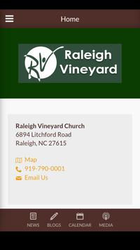 Raleigh Vineyard Church poster