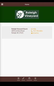 Raleigh Vineyard Church screenshot 10