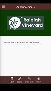 Raleigh Vineyard Church screenshot 2