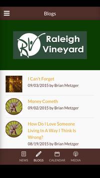 Raleigh Vineyard Church screenshot 3