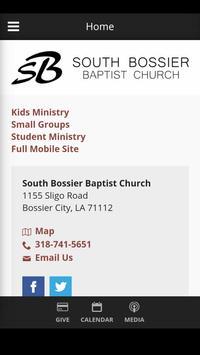 South Bossier Baptist Church poster