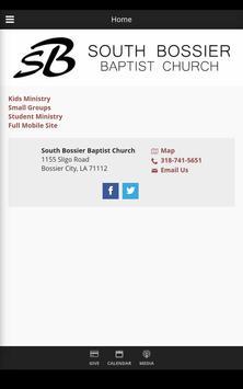 South Bossier Baptist Church apk screenshot
