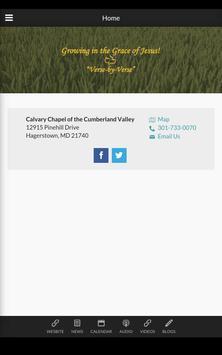 Calvary Chapel Cumberland Vly apk screenshot