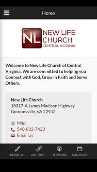 New Life Church CVA poster