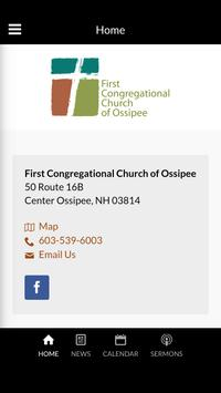 FCCO Church - Center Ossipee, NH poster