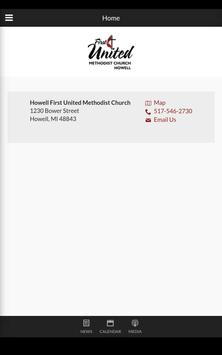 Howell FUMC - Howell, MI apk screenshot