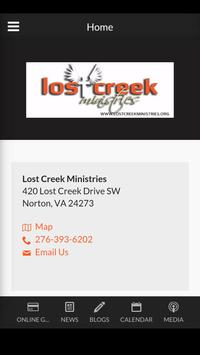 Lost Creek Ministries poster