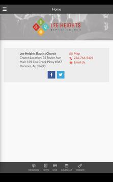 Lee Heights Baptist Church screenshot 10