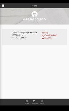 Mineral Springs Church apk screenshot