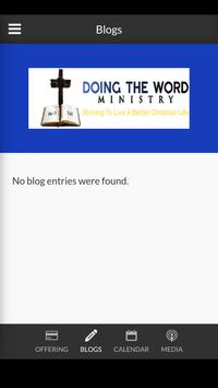 Doing The Word Ministry - Callaway, FL apk screenshot