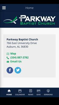 Parkway Baptist | Auburn, AL poster