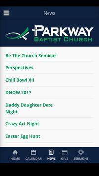 Parkway Baptist | Auburn, AL screenshot 2