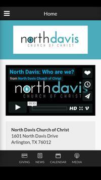 North Davis Church poster