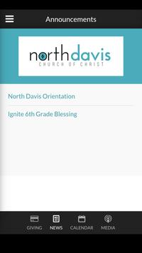 North Davis Church apk screenshot