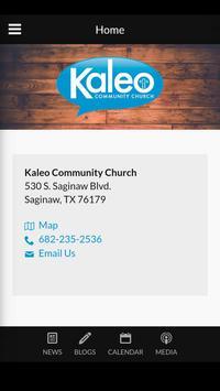 Kaleo Community Church poster