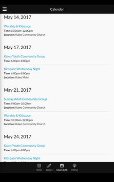 Kaleo Community Church apk screenshot