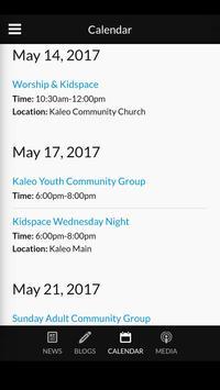 Kaleo Community Church screenshot 4