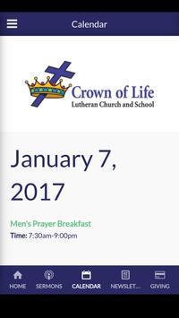 Crown of Life - Colleyville, TX apk screenshot