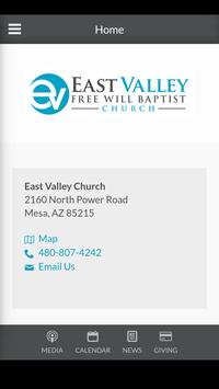 East Valley Church poster
