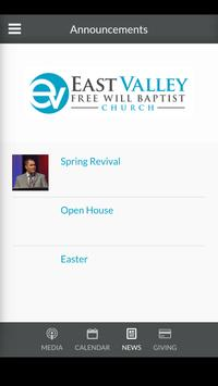 East Valley Church apk screenshot