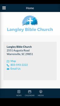Langley Bible Church poster