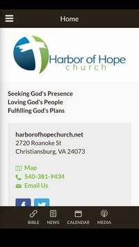 Harbor of Hope Church poster
