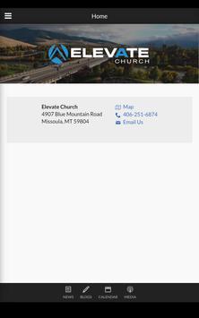 Elevate Church Montana poster