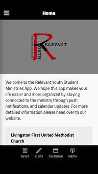 Relevant Youth Livingston poster