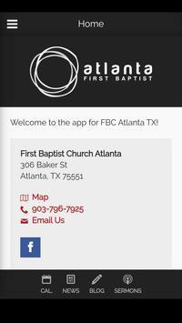 First Baptist Church poster