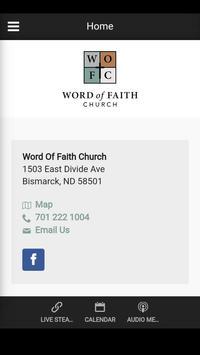 Word Of Faith Church poster