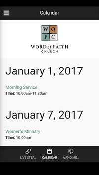 Word Of Faith Church apk screenshot