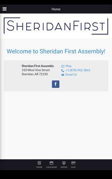 Sheridan First Assembly apk screenshot