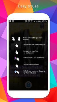 NextNews Lock Screen screenshot 2