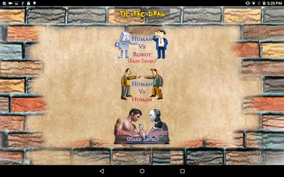 Tic Tac Drag apk screenshot