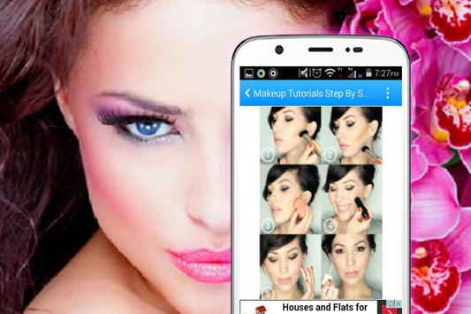 Makeup Tutorials Step By Step apk screenshot