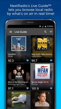 NextRadio Free Live FM Radio-poster