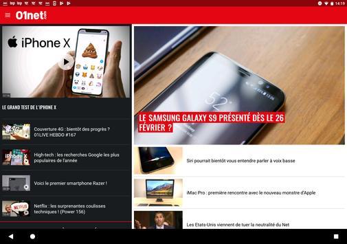 01net.com : actus, tests et vidéos high-tech screenshot 5