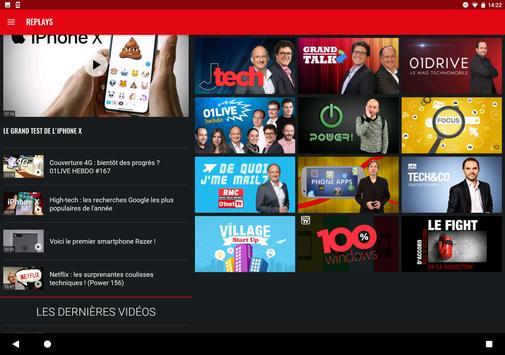 01net.com : actus, tests et vidéos high-tech screenshot 9